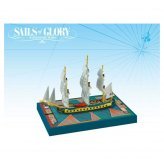 Sails of Glory: French Frigate Ship Pack | Hermione 1779...