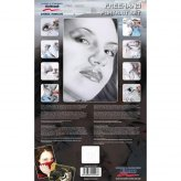 ** % SALE % ** Schablone Step by Step (Freehand Portrait...