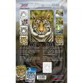 Schablone Step by Step (Tiger Wildlife) [1]