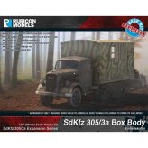 Sd.Kfz. 305/3a Box Body expansion kit (Einheitskoffer)