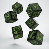 Shadowrun Decker 6W6 Dice Set (6)