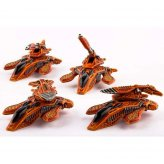 Shaltari Tribes: Yari Light Grav-Tanks (4)