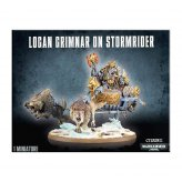 Space Wolves Logan Grimnar on Stormrider (53-13)
