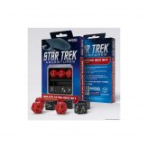 Star Trek Adventures RPG: Command Red Custom Dice