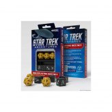 Star Trek Adventures RPG: Operations Gold Custom Dice