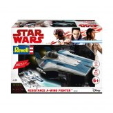 Star Wars Resistance A-Wing Fighter Blue