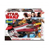 Star Wars Resistance A-Wing Fighter Red