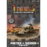 TANKS Starter Set - Panther vs. Sherman (DE)