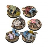 The Walking Dead Miniatures Game - Prone Figures Booster...