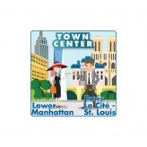 Town Center: Lower Manhattan / Paris La Cite - St. Louis...