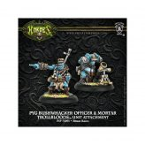 Trollbloods Pyg Bushwhacker Officer & Mortar Unit Attachment