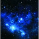 War Game Mat - 36x36inch - Blue Space (Spielmatte)