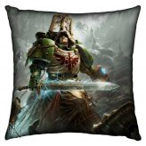 Warhammer Cushion Silk Finish Kissen Dark Angels 42cm