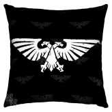 Warhammer Cushion Silk Finish Kissen Imperial Aquila 42cm