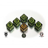 Warmachine Cryx Faction Dice (6 Stück)