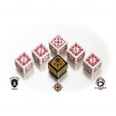 Warmachine The Protectorate of Menoth Faction Dice (6 Stück)