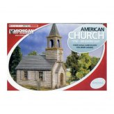 Weatherboard American Church 1750 - Modern Day 1|56 Scale