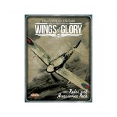 Wings of Glory WW2: Rules and Accessories Pack + Airplanes