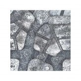 Winter Cobblestone City 3x3 Gaming Mat