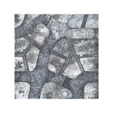Winter Cobblestone City 4x4 Gaming Mat