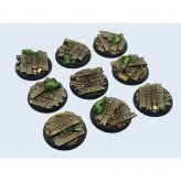 Wood Bases, Round 30mm (5)