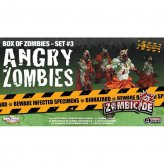 Zombicide Box of Zombies Set #3: Angry Zombies (ENGLISCH)