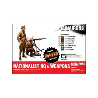** % SALE % ** 1:72 Nationalist HQ and weapons (14)