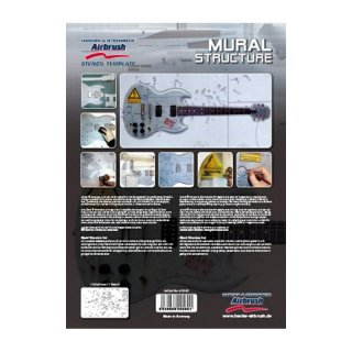 ** % SALE % ** Schablone Step by Step (Mural Structure) [1]