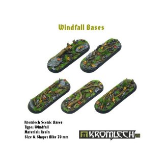 ** % SALE % ** Windfall Bases, Bike 70x25mm (5)