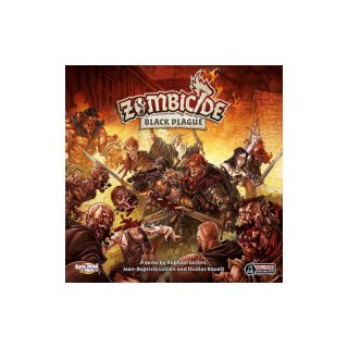 !AKTION Zombicide - Black Plague (ENGLISCH)