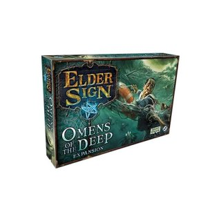 Arkham Horror Elder Sign | Omens of the Deep Expansion (EN)