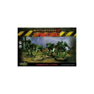 BattleTech: Command Lance Pack (plastic)