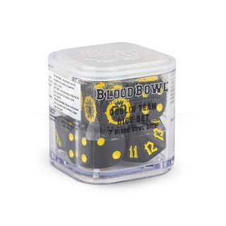Blood Bowl: The Scarcrag Snivellers Goblins Dice
