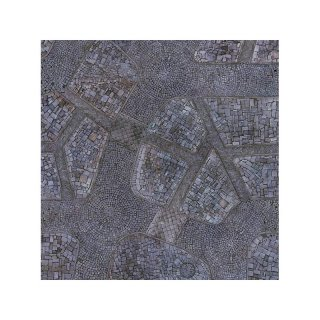Cobblestone City 3x3 Gaming Mat