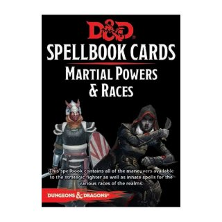 D&D: Martial Powers and Races Decks REVISED [60 Cards] (EN)