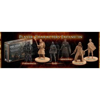 Dark Souls The Board Game: Player Character Expansion Set (DE)
