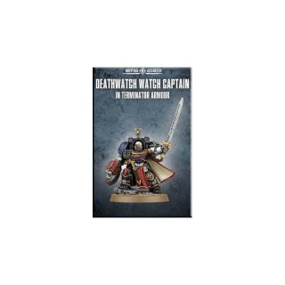 Deathwatch Watch Captain in Terminator Armour (39-23)