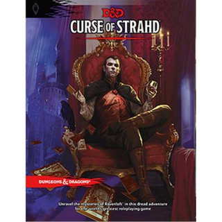 Dungeons & Dragons 5. Edition Curse of Strahd (Hardcover) (EN)