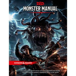 Dungeons & Dragons 5. Edition Monster Manual TRPG (HC) (EN)