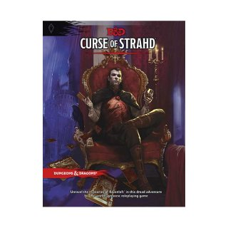 Dungeons & Dragons Curse of Strahd DM Screen (EN)