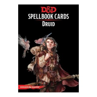 Dungeons & Dragons: Druid Spell Deck REVISED [131 Cards] (EN)