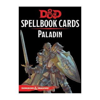Dungeons & Dragons: Paladin Spell Deck REVISED [69 Cards] (EN)