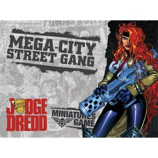 ** % SALE % ** Judge Dredd - Mega City Street Gang *nur noch 1 Stk!