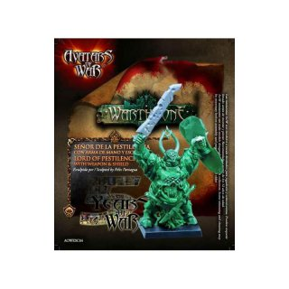 !AKTION Lord of Pestilence with weapon & shield - Limitiert (Avatars of War)