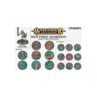 Shattered Dominion: 25 & 32 mm Round Bases (66-96)