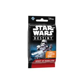 Star Wars: Destiny - Spirit of Rebellion Booster-Pack-Display (36) (EN)