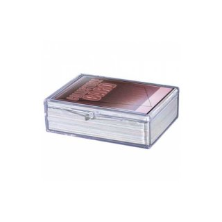 UP - Hinged Clear Box (For 50 Cards)