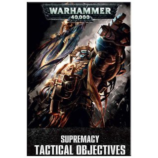 ** % SALE % ** Warhammer 40.000 Supreamacy Tactical Objectives (EN)