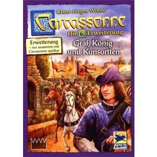Erweiterung König und Konsorten 6 Hans im Glück Carcassonne Graf deutsch