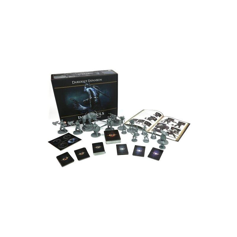 Dark Souls The Board Game Darkroot Basin and Iron Keep Tile Set